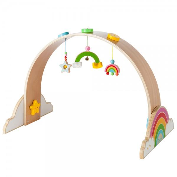 """howa Spielbogen Baby Gym aus Holz """"my rainbow"""""""