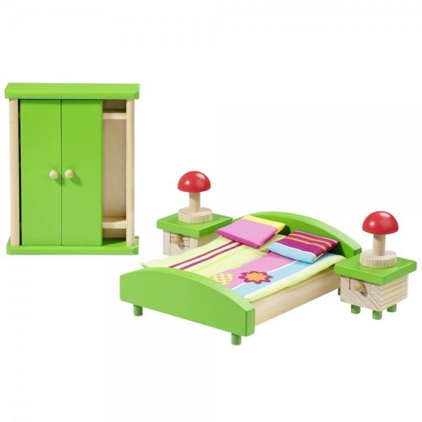 howa Puppenhausmöbel Schlafzimmer