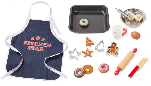howa Backset für Kinder mit Küchenschürze 18 tlg.
