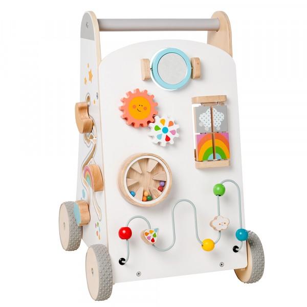 """howa Lauflernwagen Baby Walker """"my rainbow"""" aus Holz 6016"""