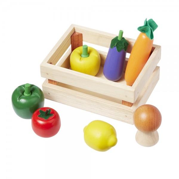 Kaufladenzubehör Gemüse 8 tlg. 4877